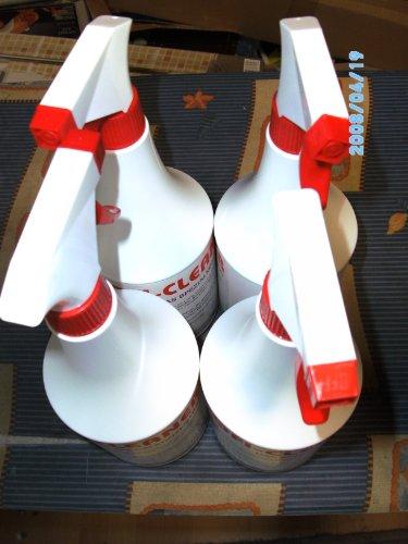 Profi Cleaner EWH-Spezialkonzentrat 4 x 1 Liter Sprühflasche Universalreiniger
