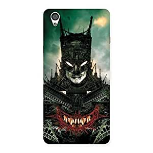 Cute Knight City Multicolor Back Case Cover for OnePlus X