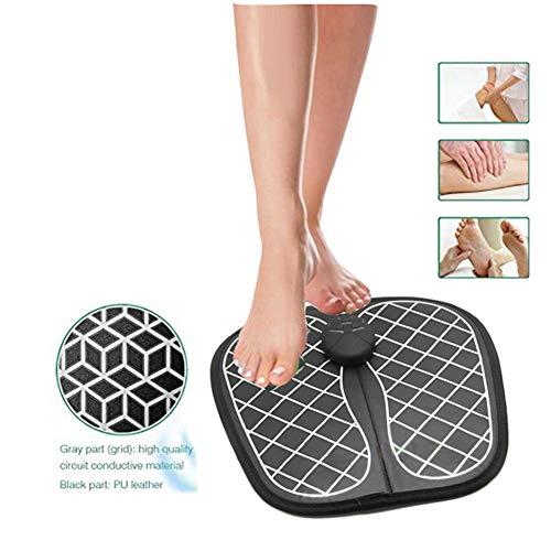Fußmassagegeräte Impulse EMS Kissen Intelligente Physiotherapie Massagegerät Verbessern die Durchblutung Fußpflege & Entspannung für Frauen Männer Schmerzlinderung