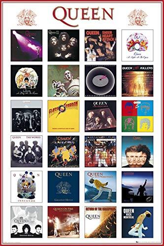Up Close Poster Queen - Pochettes d'album (61cm x 91,5cm)