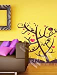 """This extremely beautiful art of twitters on a tree is sure to liven up any wall you put it on. Just put your ears to it and enjoy the """"Music of Love"""". Wall Decals are the latest trend, sweeping the world of interior design, as a quick and easy way to..."""