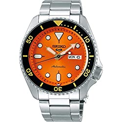 Reloj Seiko para Hombre, Naranja, Sport, 9K1