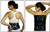 Wärmekissen Nackenkissen Schulterkissen Moorkissen Wärmetherapie (SET: Wärmekissen Maxi+Rückenkissen)