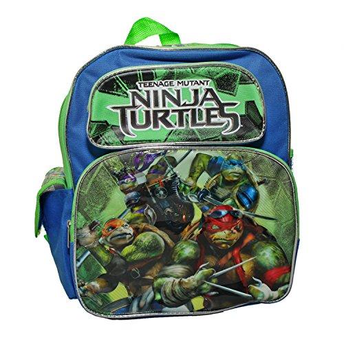 Kleiner Rucksack–Teenage Mutant Ninja Turtles–Film Grün City New (Videos Turtles Mutant Teenage Spielzeug Ninja)