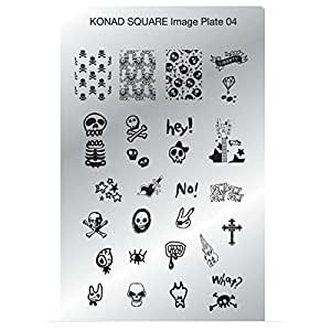 Konad plaque rectangulaire 04