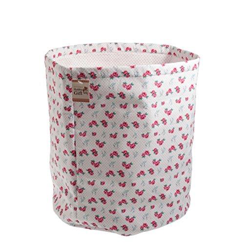 Hobbygift Tk22118 | Tissu et fil Seau de stockage | Rose spot | 31 x 38 x 31 cm