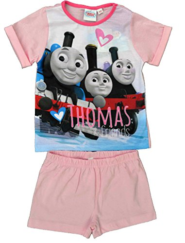 girls-thomas-and-friends-pink-short-pyjamas-size-3-4-years