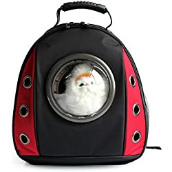 bolsos para perros Mochila para mascotas Espacio para perros Cápsula portadores Mochila de hombro al aire libre Portable Puppy Breathable Bags , 3