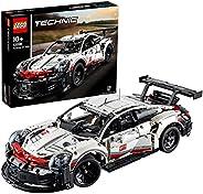 LEGO 42096 Technic Porsche 911 RSR, Byggsats med Leksaksbil, Racerbil, Byggklossar, Avancerad