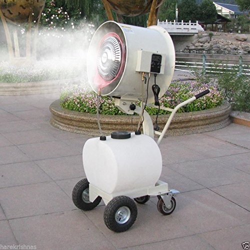 Eurokraft Mist Water Misting Fan Industrial Humidifier Heavy Duty Commercial Mist fan