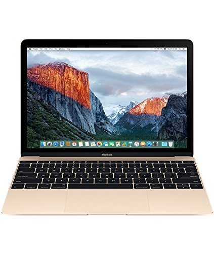 Apple MacBook MLHE2HN/A 12-inch Laptop (Core m3/8GB/256GB/OS X El Capitan/Integrated Graphics), Gold