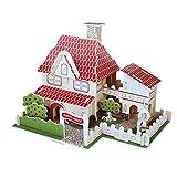Simulation 3D Model Puzzle en bois Toy Creative Country House