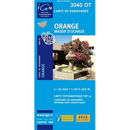 Orange/Massif d'Uchaux GPS: IGN3040OT
