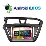 17,8cm 2DIN Android 6.0System 8Core 2GB RAM 32GB ROM Auto DVD Radio Stereo Head Unit GPS navigition für Hyundai i202014unterstützt RDS/AM/FM/Backup Kamera/Handy Link/WiFi/3G/Bluetooth/DVR