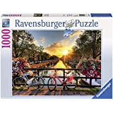 Ravensburger Puzzles Bicycles in Amsterdam, Multi Color (1000 Pieces)