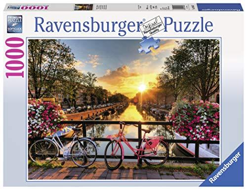 Ravensburger 19606 - Fahrräder in Amsterdam (Puzzles Für Erwachsene)