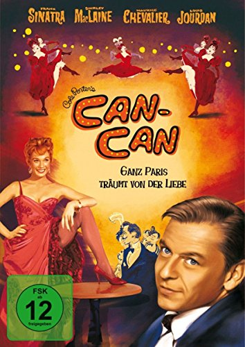 Can-Can - Ganz Paris träumt von der - Cancan Tänzerin Kostüm