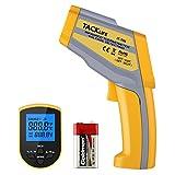 Tacklife IT-T06 Termometro Digitale a Infrarossi Misuratore Pistola a 2 Laser di Tempertatura -50°C - 550 °C Emissività Regolabile e NCV