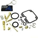 Stoneder Ensemble complet Carburateur Rebuild kit pour 1986198719881989Yamaha Yfm200Moto 4
