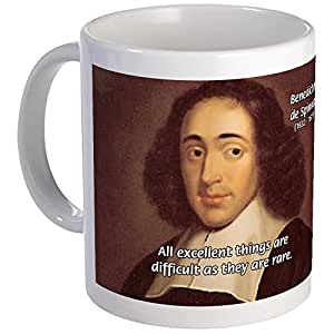 CafePress - Spinoza Ethics Philosophy Mug - Unique Coffee ...