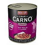 Animonda Dog GranCarno Senior Kalb & Lamm | 6x 800g Hundefutter nass