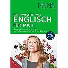 PONS Englisch für mich: Der komplette Sprachkurs mit Buch, Videos, Audio- und Online-Übungen.