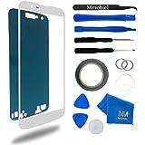 MMOBIEL Kit de Reemplazo de Pantalla Táctil para LG K10 LTE K430 K420 K410 Size 5.3 inch (Blanco) incluye cinta adhesiva / Kit de Herramientas / Limpiador de microfibra / alambre Metálico