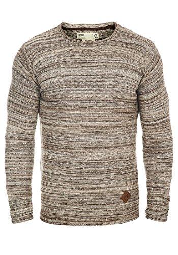 SOLID Menghi - Maglione da Uomo, taglia:M;colore:Dune (5409)