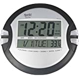 Ajanta Digital Round 26.5 cm X 26.5 cm Wall - Table Clock - 110