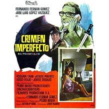 Crimen Imperfecto Póster de película español 11x 17en–28cm x 44cm Valeriano Andrés María Elena arpón Marcelo Arroita-Jáuregui Doris Coll