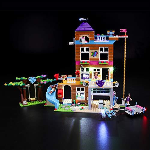 BRIKSMAX Kit de Iluminación Led para Lego Friends Casa de la Amistad,...