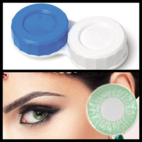 ktlinsen-Schutzhülle mit L- und R-CE-Zubehör für das Auge Grün, 1Ton, die ausschließlich eyes4you ® TM ()