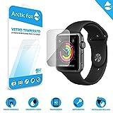 Arctic Fox 1X Screen Protector gehärtetes Glas Displayschutzfolie Klarglas Schützen HD Anti Scratch für Apple Watch 38mm