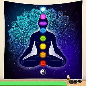 ydlcxst India 3D Meditación Chakra