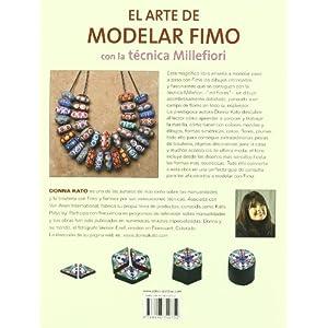 El arte de modelar Fimo con la tecnica Millefiori / The Art of Polymer Clay Millefior