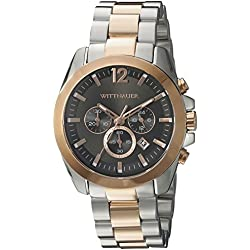 Wittnauer Mens WN3023 22mm Stainless Steel Two Tone Watch Bracelet