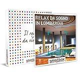 smartbox - Cofanetto Regalo - Relax da Sogno in Lombardia - Idee Regalo - 2 Notti con Colazione e percorsi Benessere per 2 Persone