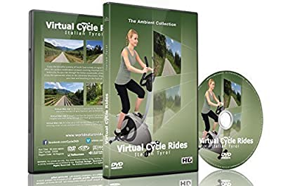 Virtual Cycle Rides - Bike Through Italian Tyrol - For Indoor Cycling, Treadmill and Running Workouts from The Ambient Collection