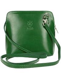 08c384af4d0 Genuine Italian Leather Small Mini Cross Body Bag Women Shoulder Bag Vera  Pelle Handbag