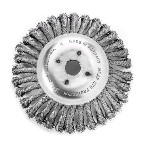 less tresse Bonhomme de brosse conique 200 mm 36 Z avec fleurs STH lisse 0,50 mm alésage 20 mm, 47625001