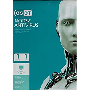 ESET NOD32 Antivirus 1 PC, 1 Year CD