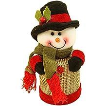 Mackur Navidad Serien Caja Papá Noel, Reno, muñeco de Nieve Forma Caja de Regalo