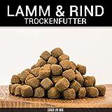George & Bobs Lamm & Rind Adult | 15 kg | Getreidefrei | 70% Fleischanteil | Superfoods | Trockenfutter | Grünlippmuschel | für ausgewachsene Hunde