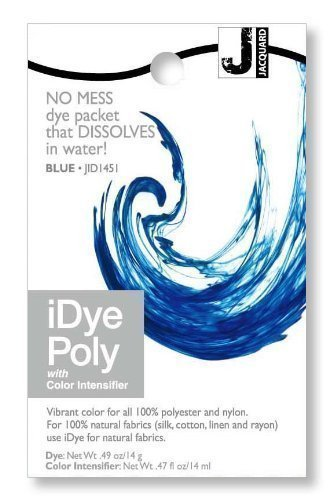 Jacquard iDye Poly - Fabric Dye for Polyester and Nylon (Various Colours Available) (Blue)