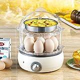 Eierkocher für 8 Eier, elektronische Regelung, Edelstahldesign, 350 W , B