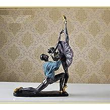 SU@DA Creativo/artículos/casa accesorios salón habitación decoración adornos/resina/bailarina/mobiliario/artesanías/A 31 * 14 * 47. 5 cm b 30 * 19 * 47 cm , b models 30*19*47cm