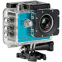 SJCam SJ5000X Elite (versión española) - Videocámara deportiva (WiFi integrado, 4K, pantalla de 2'' LCD, WiFi, sumergible 30 m) color azul