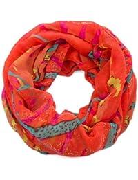 style3 Loop Sommerschal mit erfrischendem Kunst Design in verschiedenen Farben