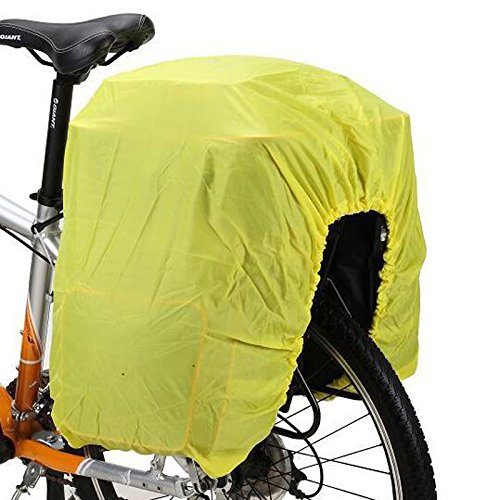 Sharplace Fahrrad Tasche Gepäckträger Regenschutz Raincover Regenhaube Regenhülle