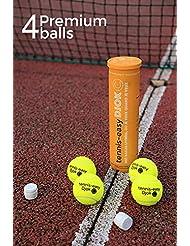 Tube de 4 balles de tennis DJOK